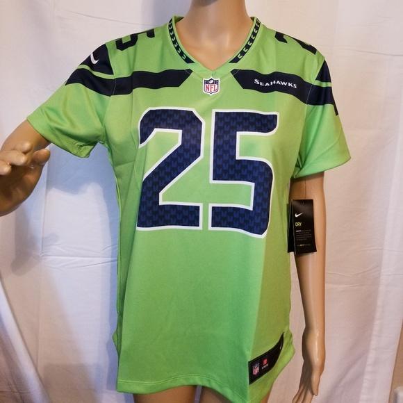 3453ce3b4c523 Nike Tops | Seattle Seahawks Richard Sherman Jersey Nwt | Poshmark